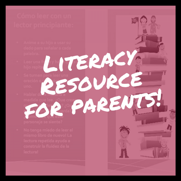 Free Literacy Resource for Parents