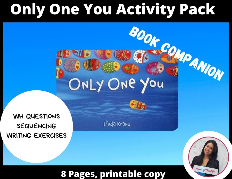 Only One You|Nadie Como Tú Activity Set